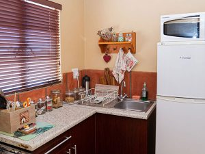 Enlarge self-catering kitchen